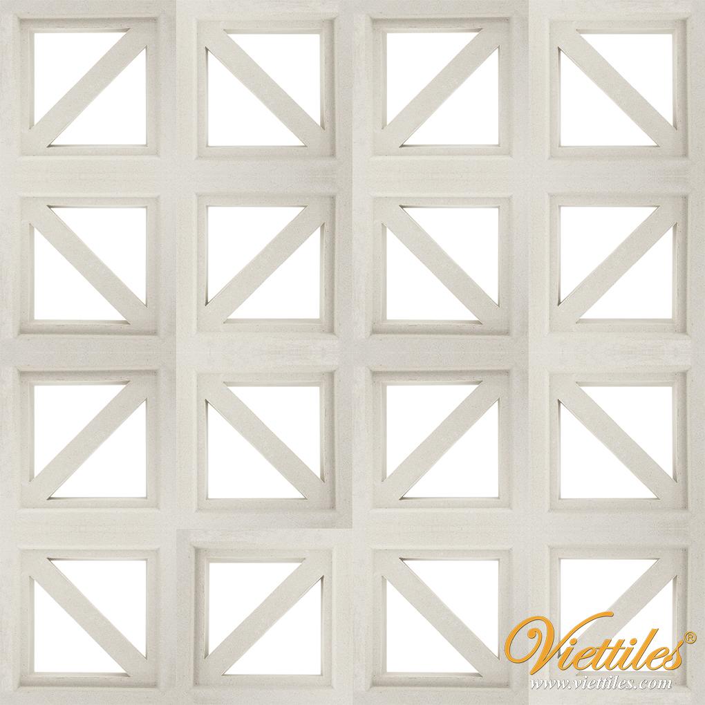 Gạch bông gió VCB-016-COVER-WHITE
