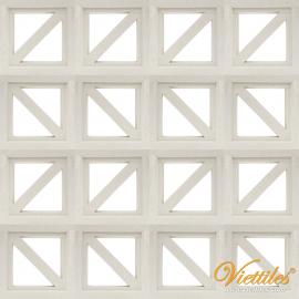 Gạch bông gió VCB-016-COVER-WHITE 2